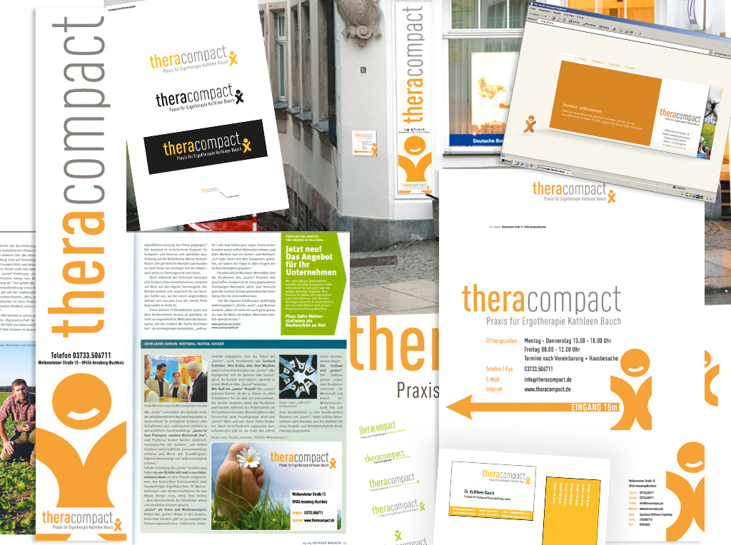Corporate Design für Theracompact