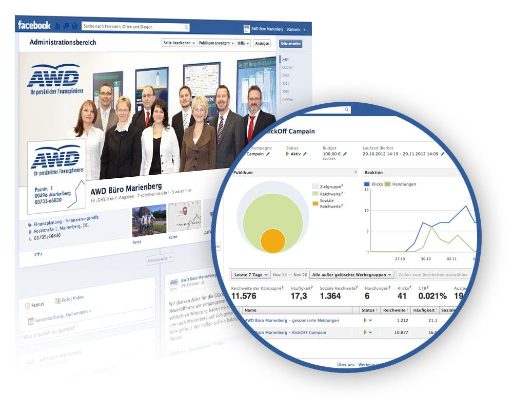 AWD Büro Marienberg jetzt auch auf Facebook