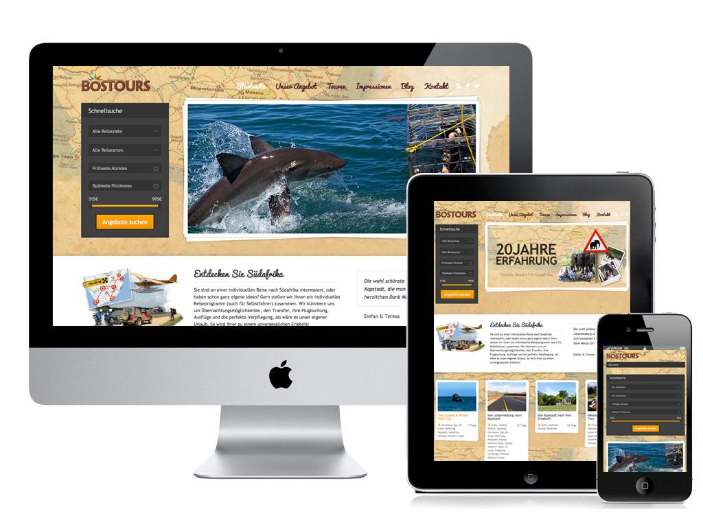 fertiges responsive webseite