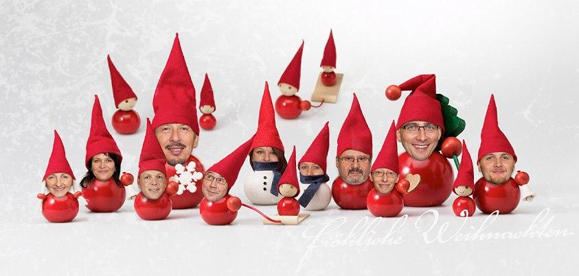 AWD Weihnachtskartengestaltung 2012