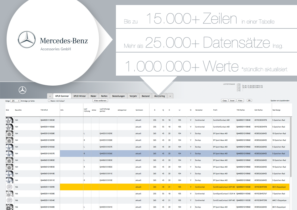 mercedes_benz_dispotool_datenmonitoring_software_webbasiert_usermanagement_verwaltung_online_excelschnittstelle_php_mysql_individualsoftware_datatables