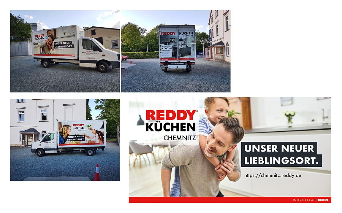 Fahrzeugvollverklebung für Reddy Chemnitz